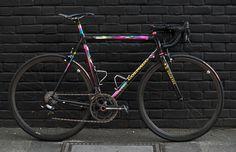 """"""" Colnago C40 - Paris-Roubaix ed. 1996 - N°186 """" http://bicyclesarethebest.tumblr.com/post/97837854591/anttip-colnago-c40-paris-roubaix-ed-1996"""