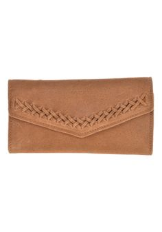 #planetsports #RVCA Womens Lulua Wallet tan