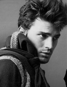 """Jamie Dornan (from abc's """"Once Upon a Time""""). yeah, he's attractive."""
