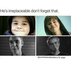 Your money is replaceable, Justin isn't ✌.