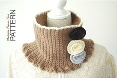 Crochet PATTERN : Madelyn Flower Cowl (baby, toddler, child and adult size) on Etsy, £3.23