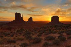 Monument Valley Sunrise   Flickr - Photo Sharing!