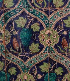 Islamic tiles - kitchen backsplash or bathroom floor