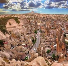 Old shaped beautiful City Cappadocia, Turkey l Places to visit l Travel destination l Tourism Beautiful Places To Visit, Wonderful Places, Amazing Places, Amazing Photos, Places To Travel, Places To See, Time Travel, Turkey Photos, Cappadocia Turkey