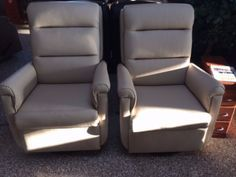 Charming Lambright Comfort Chairs, Lazy Relaxer Recliner, Lambright RV Wallhugger,  Lambright RV Furniture,