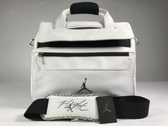 b962768bc5 Details about Air Jordan 3 Cement Messenger   Laptop Bag USED WITH TAGS  GOOD CONDITION