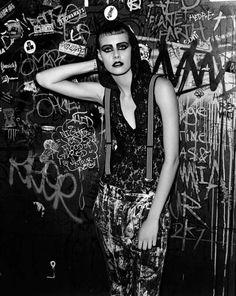 Ehren Dorsey is Underground Grunge in the Purple SS 2013 Shoot #fashion trendhunter.com
