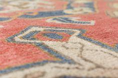 5' x 10' Vintage Oriental Rug, Pink - Tencho - Revival Rugs