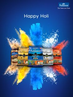 This Holi bring a splash of colour in your cuisines! Creative Poster Design, Ads Creative, Creative Posters, Creative Advertising, Holi Poster, Holi Greetings, Best Ads, Happy Holi, Photoshop Design
