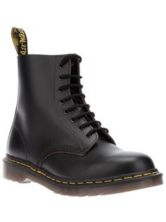 DR MARTENS 8-Eyelet Black Boot This is just all I want now and forever and always