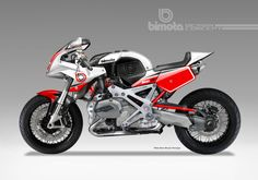BIMOTA BB-4R CAFE' SPORT CONCEPT | Flickr - Photo Sharing!