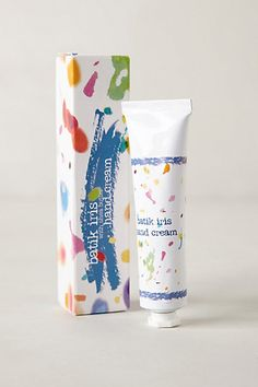 Hand Cream packaging