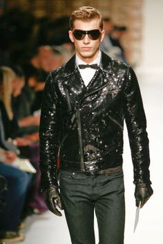 Sequined Motorcycle jacket - Glam Rock