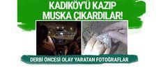 Sosyal medyada yayınlanan bir videoda gece yarısı Galatasaraylı taraftarların Ülker Stadyumu Fenerbahçe Şükrü Saracoğlu Spor Kompleksi'ne gizlice giriş yaparak kale sahasında yaptığı kazı sonucunda muskaya benzer bir şey çıkardığı görüntüler büyük yankı uyandırdı.