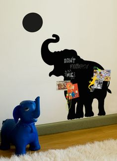 Magnet Chalkboard Sticker Elephant - Groovy Magnets