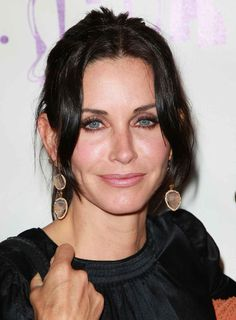 Courteney Cox at the Los Angeles Antique Show opening night party in 2010.