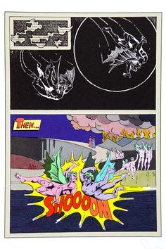 Tom Phillips, Dante's Inferno, translated, designed and illustrated by Tom Phillips, London, Talfourd Press, 1983. Illustrazione al canto XX,4