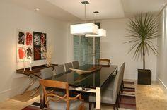 sala de jantar rustica com mesa branca e cadeiras pretas - Pesquisa Google
