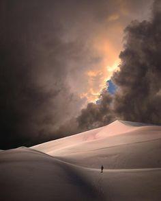 ♂ man alone desert