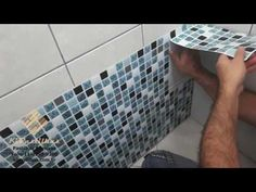Instalação pastilhas kipastilhas adesivadas - YouTube
