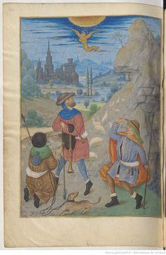 folio 113vMme de Bossu Arsenal, Renaissance, Medieval Clothing, Bnf, Bethlehem, New Testament, 15th Century, Painting, Costume