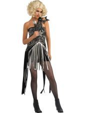 Adult Star Dress Lady Gaga Costume - Party City