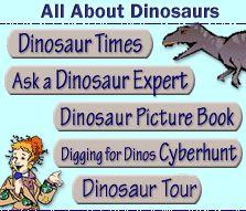 Scholastic Online Dinosaur Activities