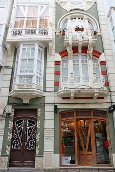 casa modernista by FERROLturismo, via Flickr