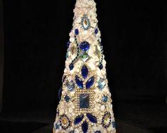 Large Jeweled Christmas Tree | Etsy