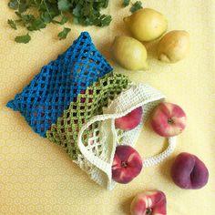 Häkelanleitung, Frau Apfelkern, Einkaufsnetz, Obst und Gemüse, Häkeln, Catania Wolle, Anleitung für ein Häkelnetz, Umweltschutz