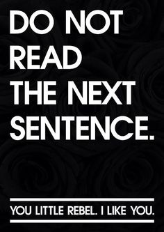 ;-) ~ETS #neverfollowtherules #rebelyell #rebel