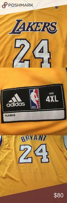 ea951ea4cef ... Kobe Bryants L.A. Lakers Jersey Kobe Bryant L.A. Lakers jersey size 4x  NBA Other ...