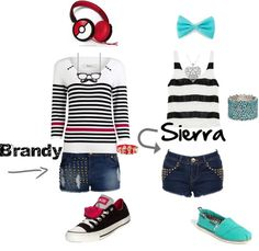 """""""Best Friends outfit"""" by brandyayers on Polyvore"""
