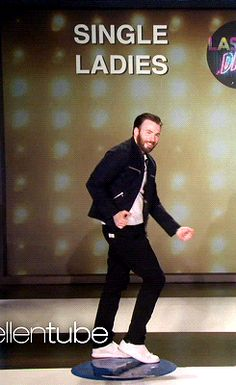 The dance that Chris did after signing the divorce papers!!!