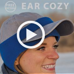 Winterize your ball cap with a fleece. Watch this video and learn how. Nancy's Notions | Sewing | Quilting | DIY