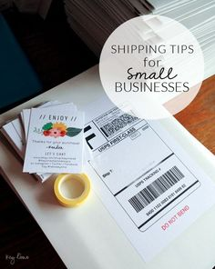 Do you run a small business? Are you trying to save money? Maybe have an Etsy shop? Here are some great shipping tips for small businesses. /explore/etsy /explore/tips Business Advice, Business Planning, Online Business, Business Help, Small Business Websites, Small Business Advertising Ideas, Startup Business Ideas, Small Business Canada, Llc Business