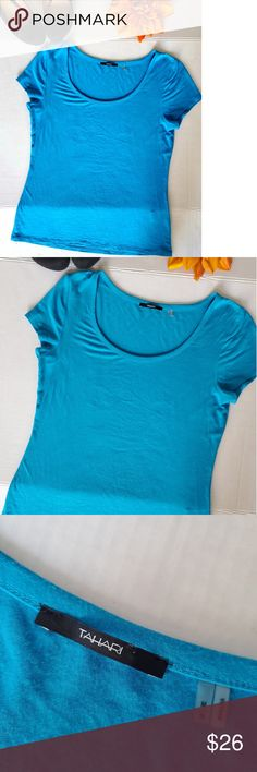 Soffe Tissue Tee Lg Turquoise