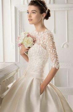 Tendance Robe De Mariée 2017/ 2018 : Winter Wedding Dresses