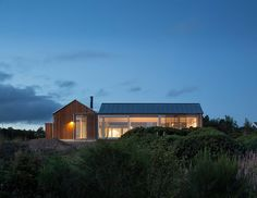 Designed by Danish studio Lenschow & Pihlmann, the House at Mols Hills