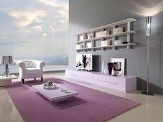aménagement du salon dans le style contemporain