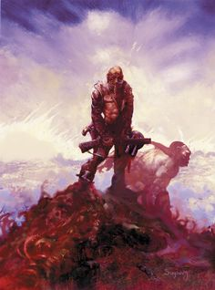 Cholly and Flytrap, by Arthur Suydam. Not sure if this piece is published by Marvel or the new indie publisher...