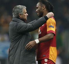 galatasaray 3 vs 2 real madrid (09/04/2013)  Drogba vs Mourinho <3
