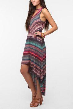 Ecote Knit Halter Maxi Dress - I want I want!!
