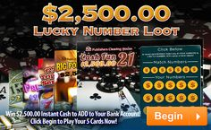 New scratch off cards ......Free Online Sweepstakes & Contests   PCH.com -You can't win if you don't enter (Smiles)