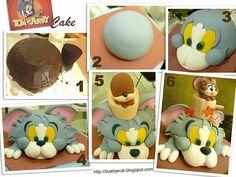 Tom and Jerry cake | nina suriatmojo | Flickr