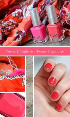 Nail Polish L'Onglerie - Rouge Framboise | Cherryblossom blog