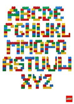 Insane image with regard to lego letters printable
