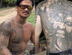 Popular tribal tattoo designs (© Rex Features)