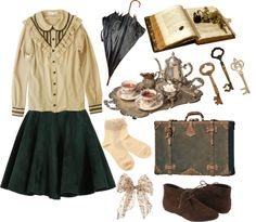 """""""Flying Spell"""" by notkyary ❤ liked on Polyvore"""