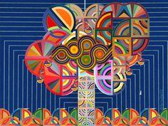 Frank Stella. Ritmo en espiral.